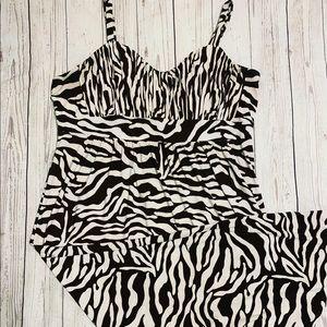 INC Animal Print Maxi Dress